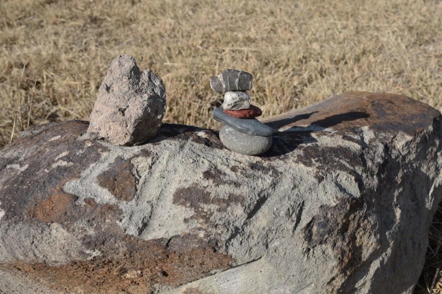 empezamos a hablar de la forma de las piedras en el camino